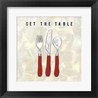 Kitchen Utensils III Framed Print