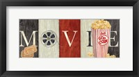 Framed Movie Cinema Signs I