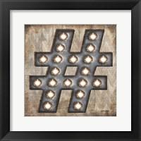 Framed Marquee Symbols I