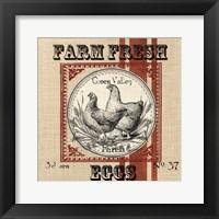 Organic Farm II Framed Print