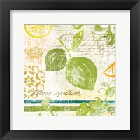 Fruit Crush II Framed Print
