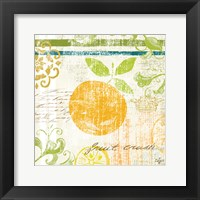 Fruit Crush III Framed Print