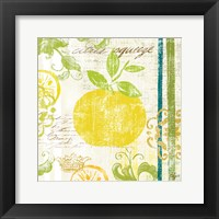 Fruit Crush IV Framed Print