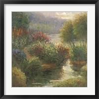 Framed Ann Marie's Garden