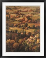 Framed Mediterranean Countryside