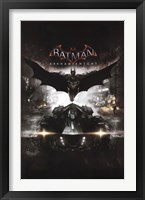 Framed Arkham Knight - Cover