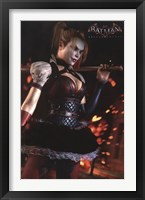 Framed Arkham Knight - Harley