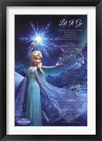 Framed Frozen - Let It Go