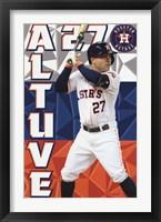 Framed Houston Astros™ - J Altuve 15