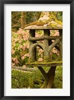 Framed British Columbia, Butchart Gardens Japanese gardens