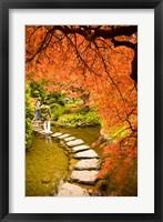 Framed Japanese Garden, Butchart Gardens, Victoria, BC