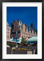 Framed British Columbia, Victoria, Historic Empress Hotel