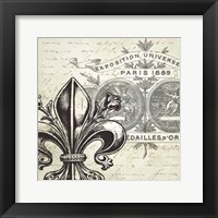 All About Paris I Framed Print