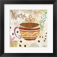 Colorful Coffee I Framed Print