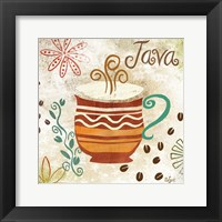 Colorful Coffee II Framed Print