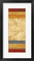 Tapestry Stripe Panel II Framed Print
