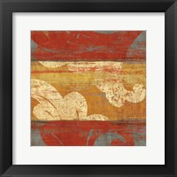 Tapestry Stripe Square I Framed Print
