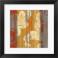 Tapestry Stripe Square II Framed Print