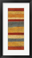 Abstract Stripe Panels I Framed Print