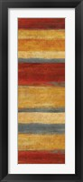 Abstract Stripe Panels II Framed Print