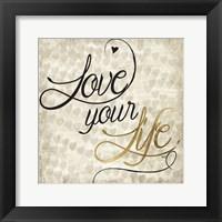 Love Life II Framed Print