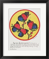 Agrias Sardanaplaus Framed Print