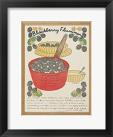 Blackberry Flummery Framed Print