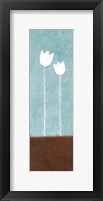 Tall Tulips at Noon A Framed Print