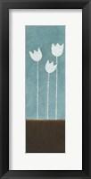 Tall Tulips at Dusk B Framed Print