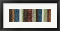 Morroccan Stripes Collect Framed Print