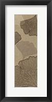 Falling Flowers Framed Print