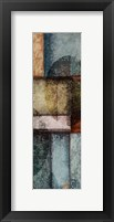 Rectangle With Circles 6 Right Framed Print
