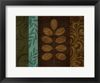 Pressed Leaves 2 Framed Print