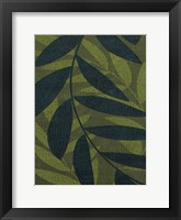 Green Leaves 2 Framed Print
