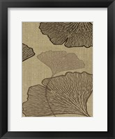 Framed BROWN LEAVES 3