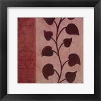 Purple Vine Mate Framed Print