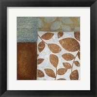 Leaf Letter 2 Framed Print