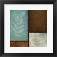 Patterns And Ferns 1 Framed Print