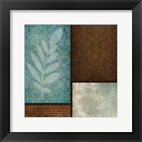 Patterns Fern Framed Print