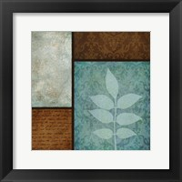 Patterns Fern Mate Framed Print