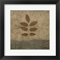Vintage Leaves 2 Framed Print