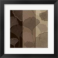 Framed 3 Panel Falling Flowers