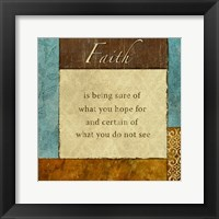 Faith 1 Framed Print