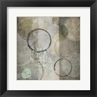 Stone Circles Framed Print