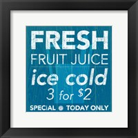 Fresh Juice Framed Print