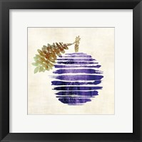 Framed Plum