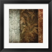 Spice Leaves 1 Framed Print