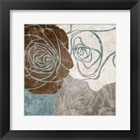 Chocolate Rose Framed Print