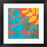 Tango Leaves 1 Framed Print