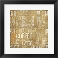 Coffee 4 Framed Print